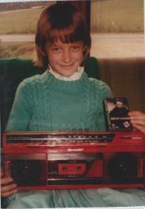 10th Birthday boombox