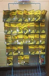 CliffsNotes rack, odcpl.com