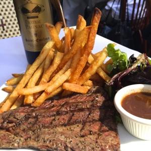Steak at Les Halles NYC
