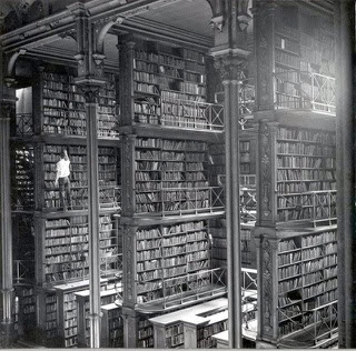 Main library in Cincinnati, closed in 1955