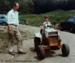 Driving Tractor with Dad, phoebedecook.com