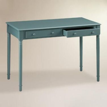 Slim Legged Desk, pinterest.com