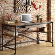 Industrial Desk, pinterest.com
