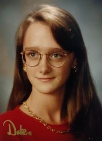 Phoebe Senior Portrait, 1994