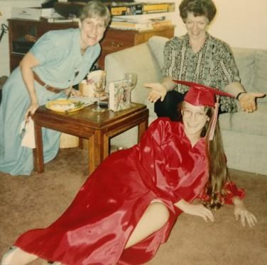 Phoebe Graduation Peg Janet, 1994