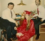 Phoebe Graduation Mike Louis, 1994
