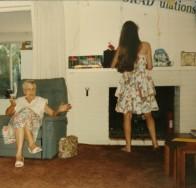 Phoebe Graduation Grandma, 1994