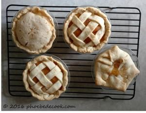 Peach pies, phoebedecook.com