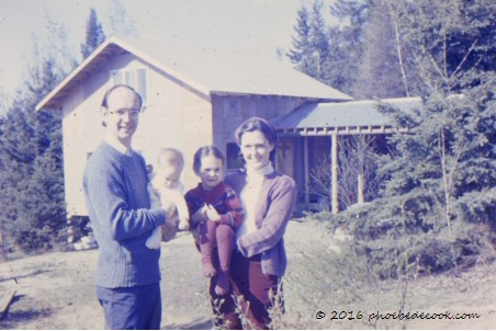 Family at Pudding Hill, July 1977