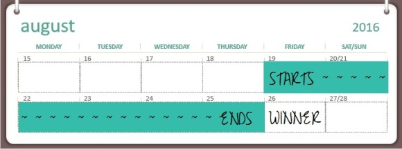 Giveaway Calendar