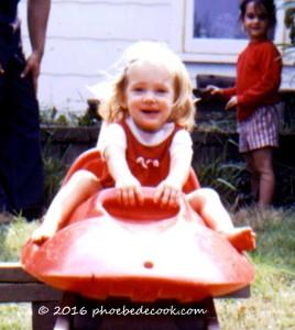 Phoebe age 2, phoebedecook.com