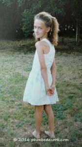 Phoebe age 11, phoebedecook.com
