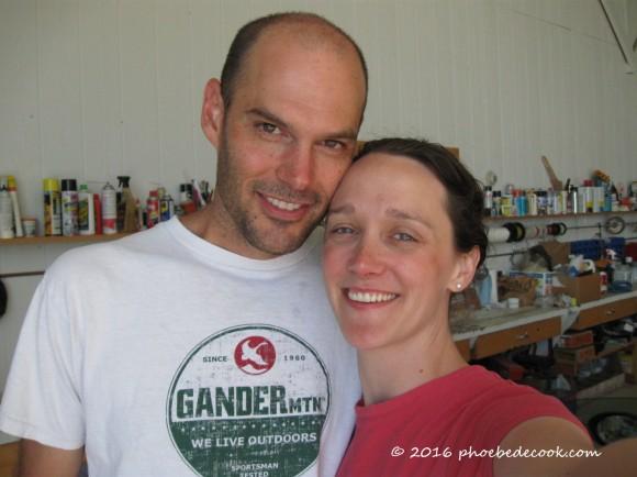 Kurt and Phoebe 2010, phoebedecook.com
