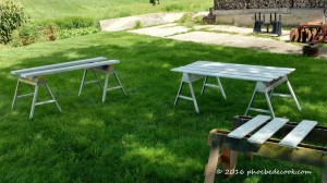 Picnic Table During, phoebedecook.com