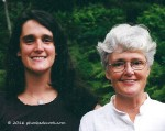 Sarah and Mom 1992, phoebedecook.com
