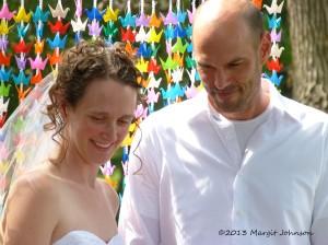 Phoebe and Kurt wedding, Margit Johnson
